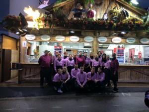 Unser tolles Team auf der Wiesn 2015